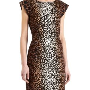 Derek lam animal print dress